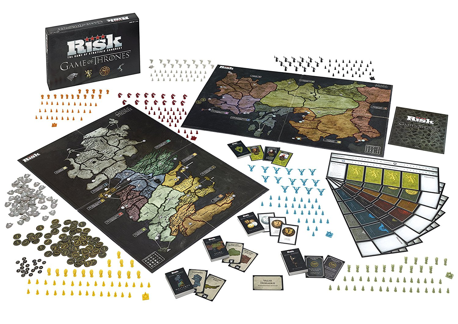 But du jeu Risk Game Of Thrones