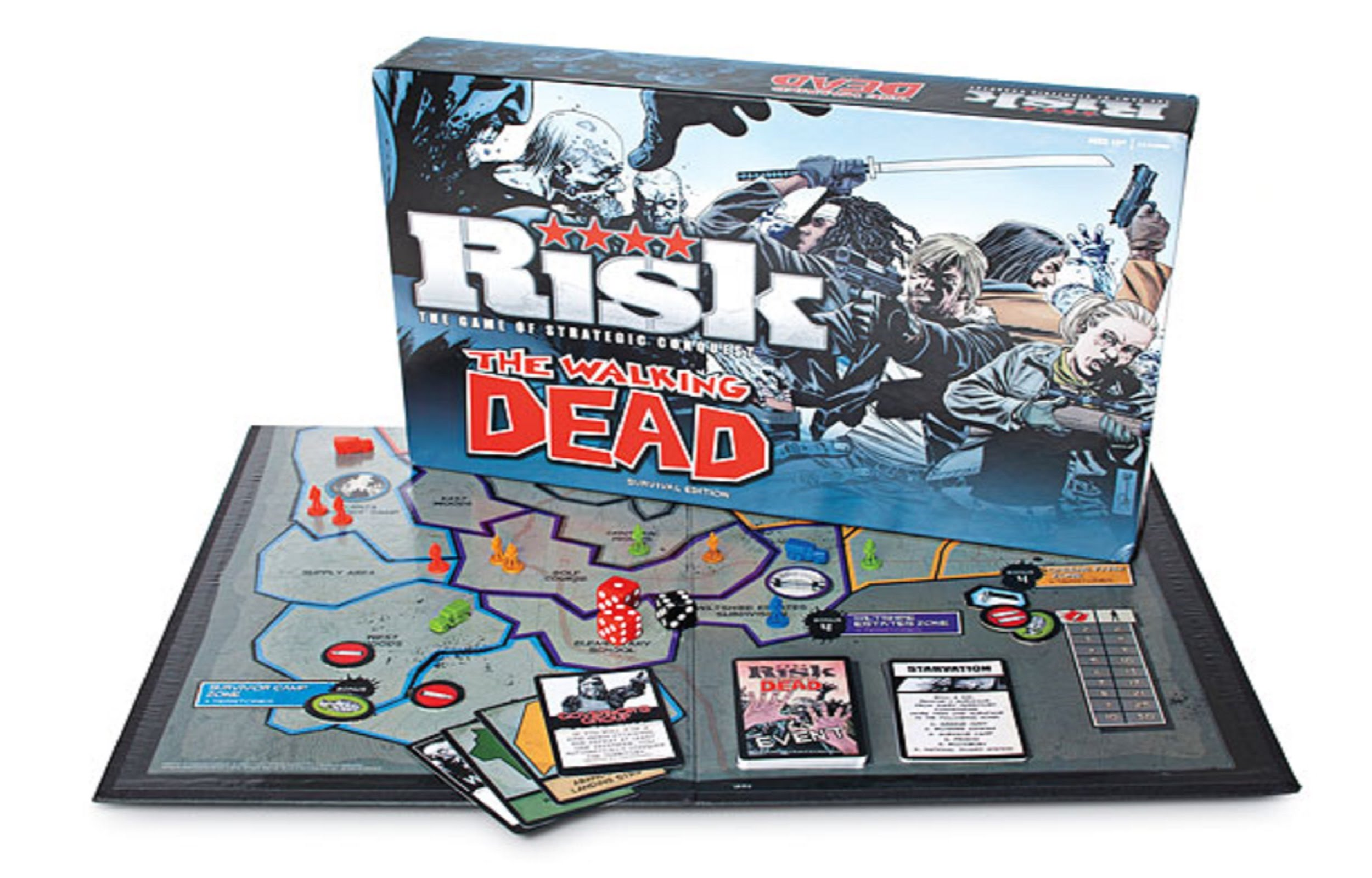Jeu Risk The Walking Dead